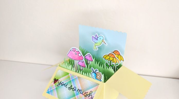 Lawn Fawn Scalloped Box Card Pop-up Die